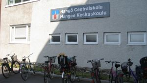 Hangö centralskola.