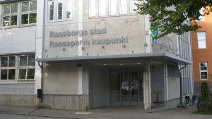Raseborgs stadshus entré