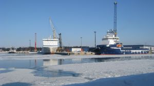 hamnen i Hangö