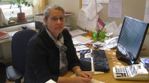 Mirjam Waaramäki är chef för social- och familjeservicecentret i Hangö stad.