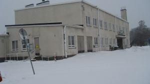 Järnvägsstationen i Hangö
