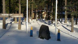 Frontmuseet i Lappvik.