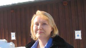 Camilla Bäckman är ordförande för FC HIK.