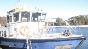 Forskningsfartyget Saduri vid Tvärminne Zoologiska station