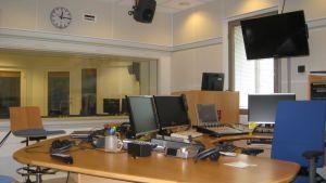 Radio Vega Västnylands studio i Ekenäs.