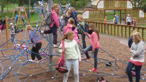 Spontanidrottsplatsen vid Kyrkfjärdens skola i Ingå.