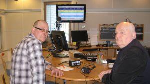 Egon Blomqvist och Birger Blomqvist är måndagssnackare den 25.3.2013.