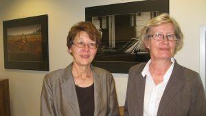 Marianne Gripenberg-Gahmberg och Anne Priha