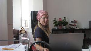 Monica Javanainen är vd i företaget J&Co Digital.