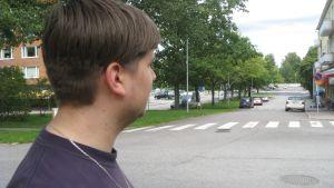 Ung arbetslös i Ekenäs.