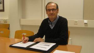 Kent Gustafsson är viceordförande i tenala byarådsförening