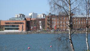 Universitetsstranden i Brändö, Vasa med universitets studentkårshus