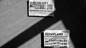 Dagstidningarna Borgåbladet och Östnyland