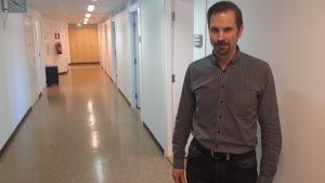 Direktören för hälsoövervakningen Andréas Smeds.