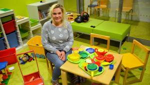 Familjearbetare Tanja Granqvist i Borgå.