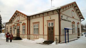 Stationhuset i Bennäs.