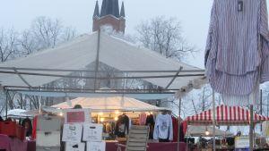 Februarimarknad på Lovisa torg