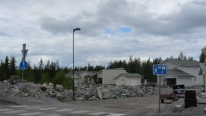 Bostadsområde i Böle, Vasa.