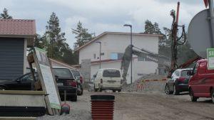 Husbyggen i Böle i Vasa.