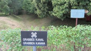 Grabbes kanal i Kroggård i Karis.