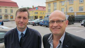 Kim Kuhlberg och Göran Sjöblom