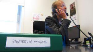 Cybersäkerhetsrådgivare Liina Areng på Estlands försvarsministerium.