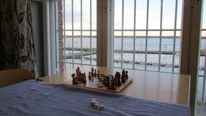 Utsikt över infjärden från Vasa fängelse.