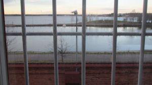 Utsikt från Vasa fängelse.