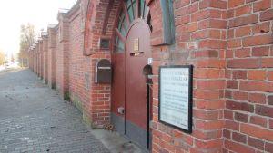 Huvudingången till Vasa fängelse.