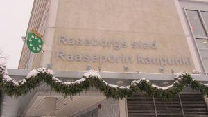 Julpyntat Fixhus i Raseborg
