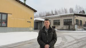 Produktionschef Jan Silén vid Tammet Ab ser, trots svackan, ljust på företagets framtid.