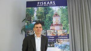 Patrick von Essen är fastighetsdirektör vid Fiskars Fastigheter.