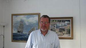 Sten Öhman (SFP) är första vice ordförande i Hangö stadsstyrelse