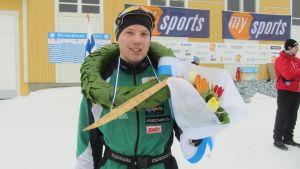 Victor Lövdahl vann BotniaVasan 2013.
