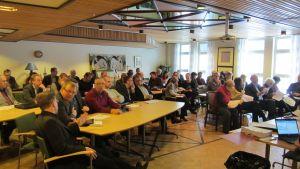 SFP möttes i Norrvalla i Vörå för att nominera kandidater till samkommunsposter