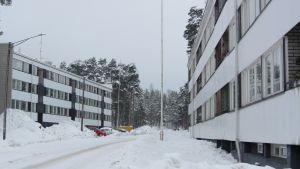 höghus på Södra åsen i Lovisa