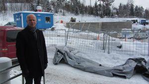 Borgå sjukhus avfallsstation
