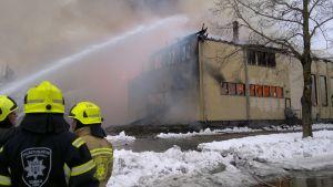 Branden i Föreningshuset