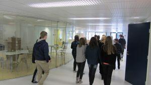 Studieutrymme vid Borgaregatans skola