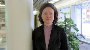 Professor Nina Pilke vid Vasa universitet