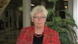 Professor Harriet Silius vid Åbo Akademi