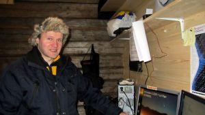 Hans Linden, Vasa Andromeda, i Meteorian