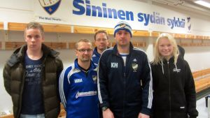 Hugo Villför, Tomi Kärkkäinen, Krister Grönholm, Kris Huckstepp, Emilia Grönholm