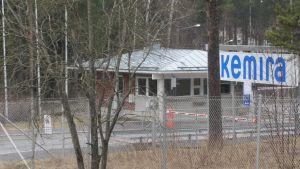 Kemiras fabrik i Vasa.
