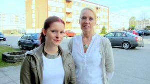 Elin Wilson och Susanna Westling