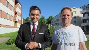 Joakim Strand och Krister Grönholm