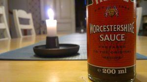 Worcestershiresås.