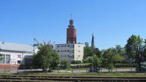 Sparbörsens hus i Hangö.
