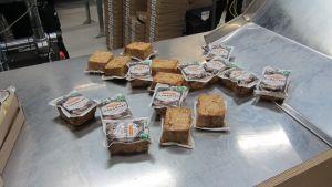 Tofun färdigt förpackad