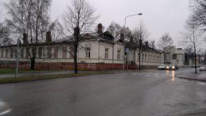 Rivningshotade hus på Trädgårdsgatan 41